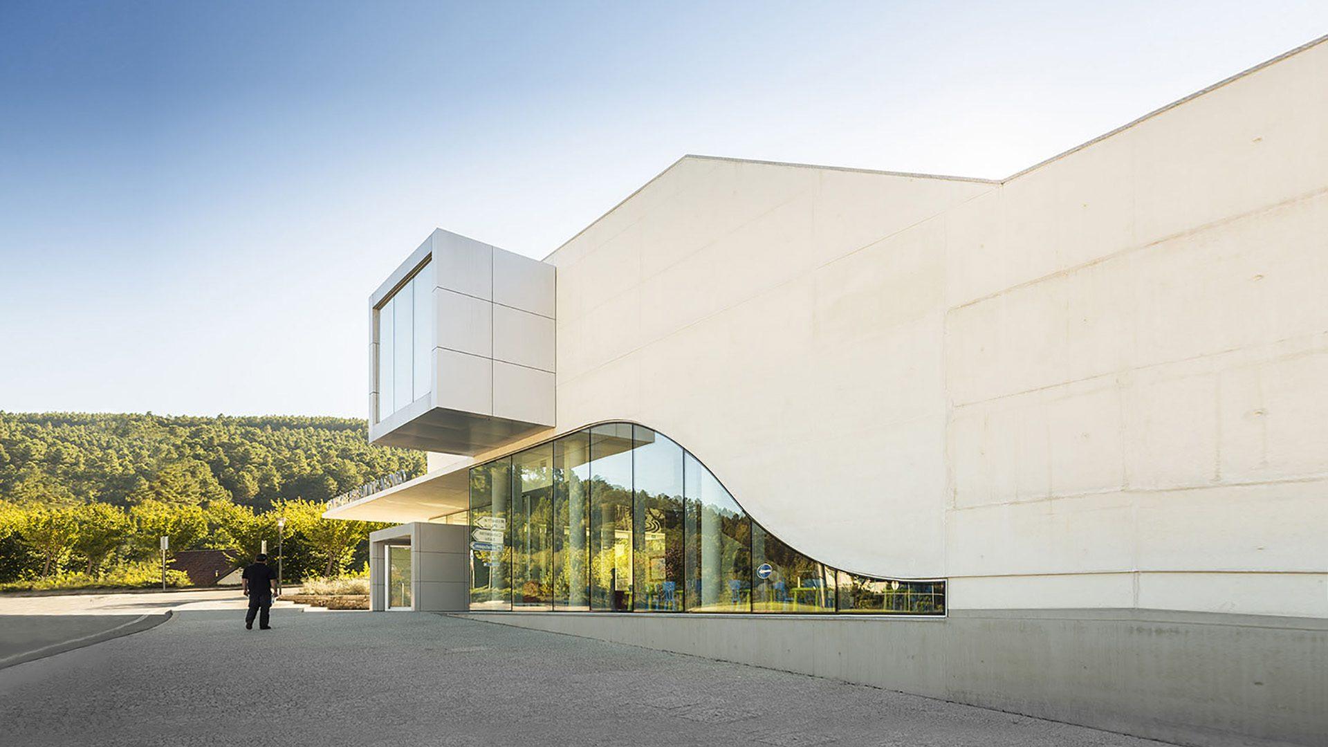 Centro De Artes Nadir Afonso Museum in Boticas, Portugal