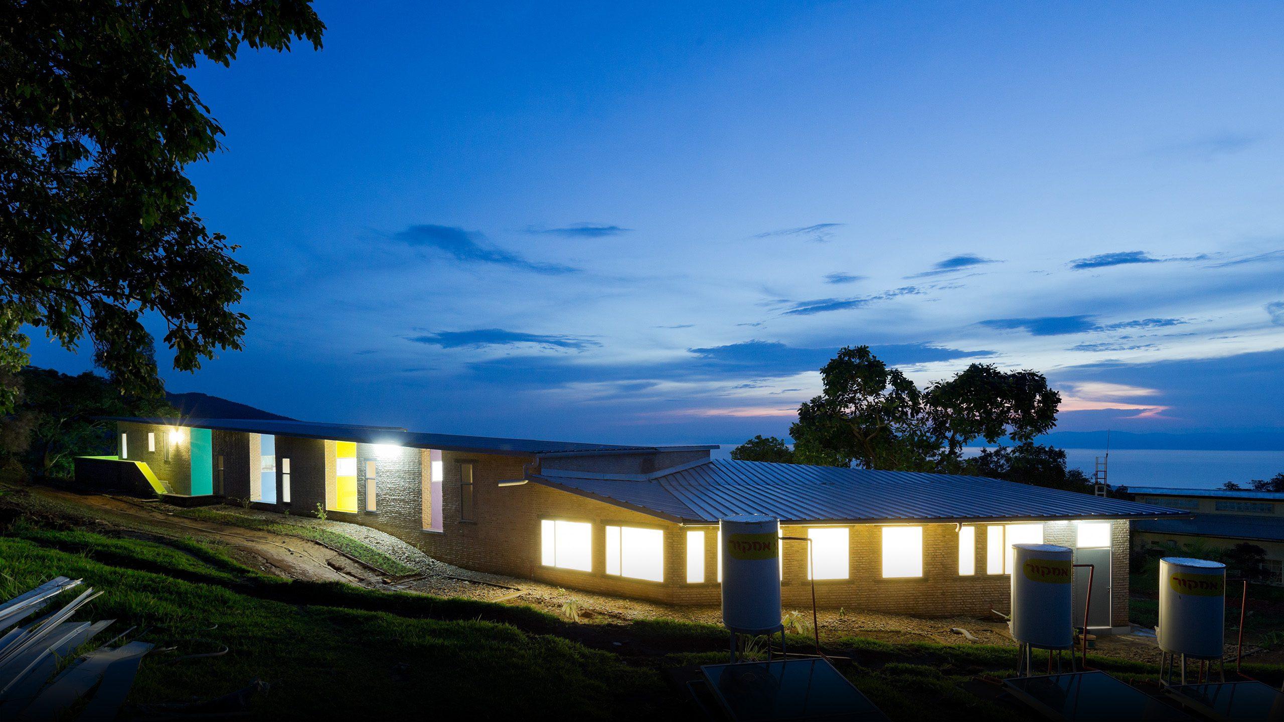 Off-The-Grid Staff Housing in Burundi Africa